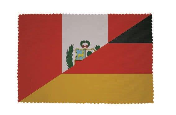 Glasreinigungstuch Peru-Deutschland