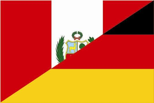 Aufkleber Peru-Deutschland