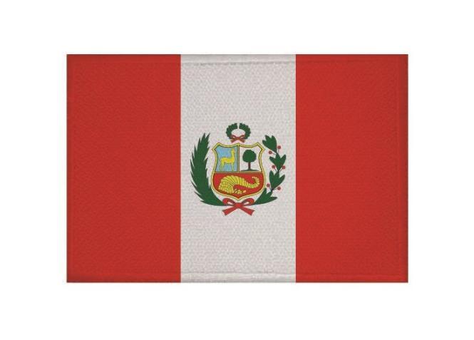 Aufnäher Patch Peru 9 x 6 cm