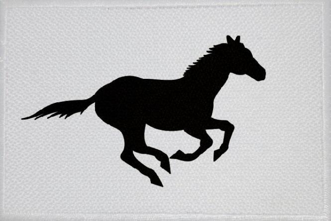 Aufnäher Pferd Motiv Nr. 1 Patch 9 x 6 cm