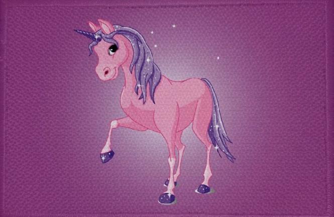 Aufnäher Pferd Motiv Nr. 50 Einhorn Patch 9 x 6 cm