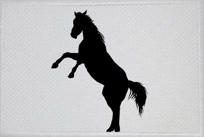 Aufnäher Pferd Motiv Nr. 6 Patch 9 x 6 cm