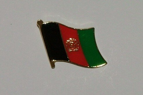 Pin Afghanistan 20 x 17 mm