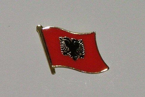 Pin Albanien 20 x 17 mm