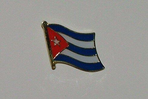 Pin Kuba 20 x 17 mm
