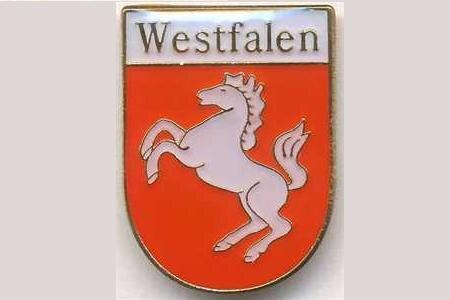 Pin Westfalen Wappen