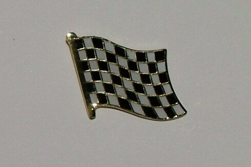 Pin Zielflagge 20 x 17 mm