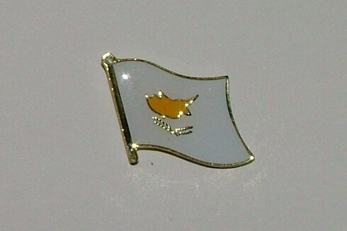 Pin Zypern 20 x 17 mm