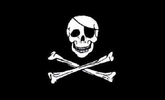 Aufkleber Pirat