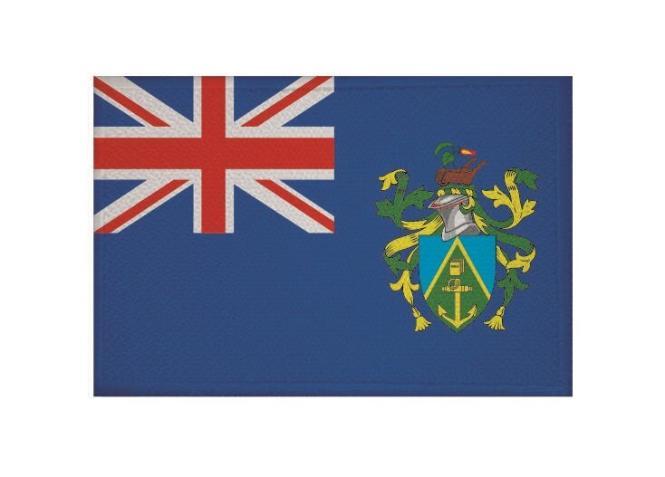 Aufnäher Patch Pitcairn Inseln 9 x 6 cm