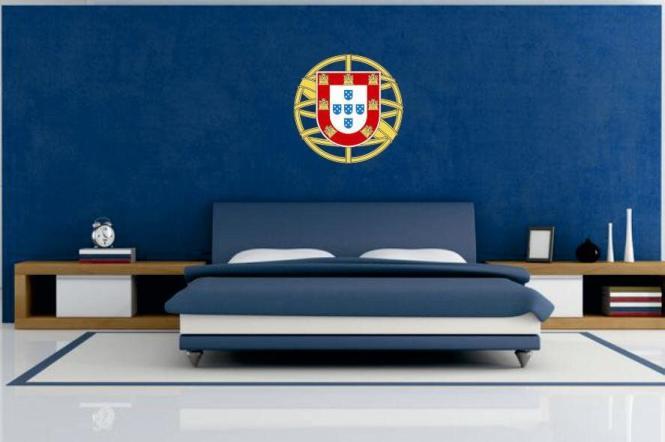 wandtattoo portugal wappen color. Black Bedroom Furniture Sets. Home Design Ideas