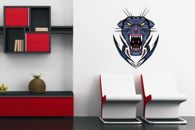 Wandtattoo Predator Panther Motiv Nr. 3