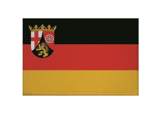 Aufnäher Patch Rheinland - Pfalz 9 x 6 cm