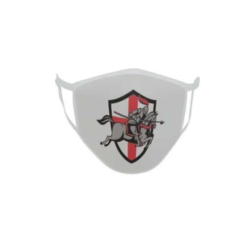 Gesichtsmaske Behelfsmaske Mundschutz Ritter Motiv Nr. 55