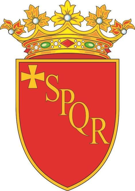 Aufkleber Rom Wappen