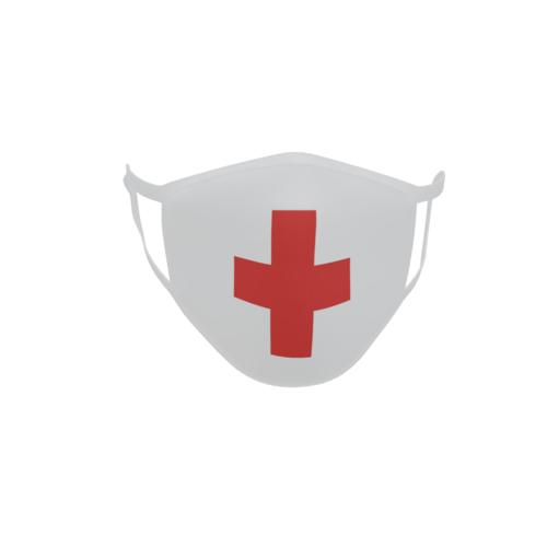 Gesichtsmaske Behelfsmaske Mundschutz Rotes Kreuz