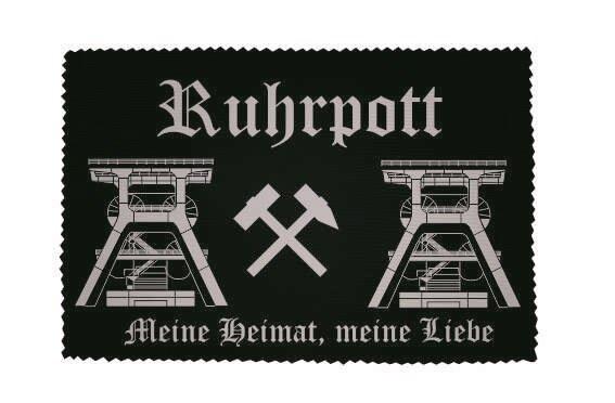 Glasreinigungstuch  Ruhrpott