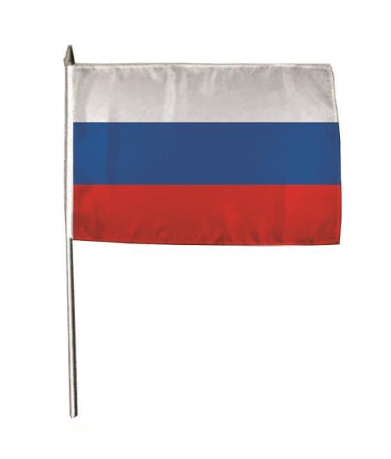 Stockflagge Russland 30 x 45 cm