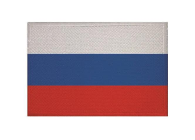 Aufnäher Patch Russland 9 x 6 cm