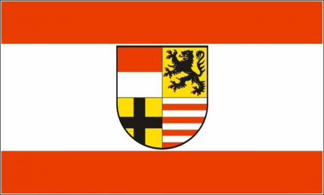 Flagge Saalekreis