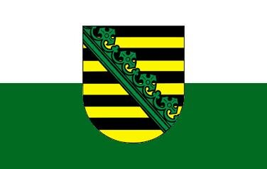 Fahne Sachsen 90 x 150 cm