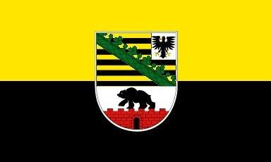 Fahne Sachsen-Anhalt 90 x 150 cm