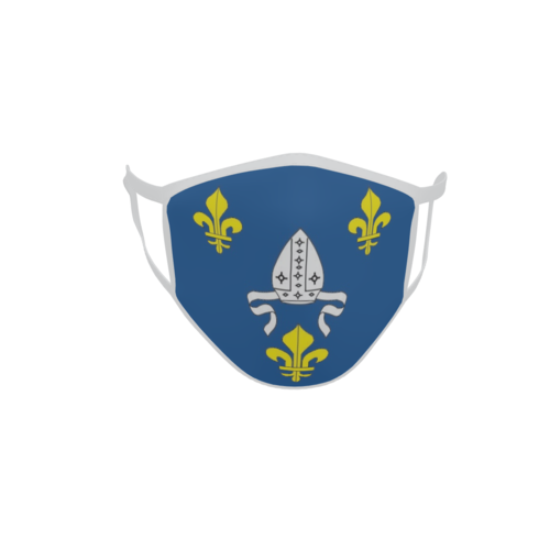 Gesichtsmaske Behelfsmaske Mundschutz Saintonge Provinz