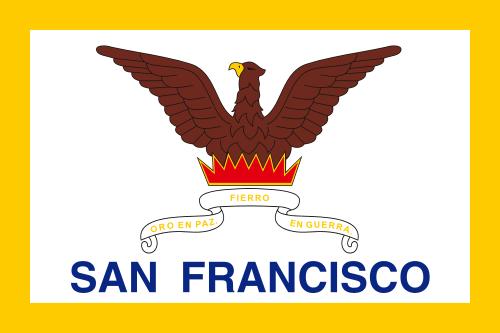 Flagge San Francisco