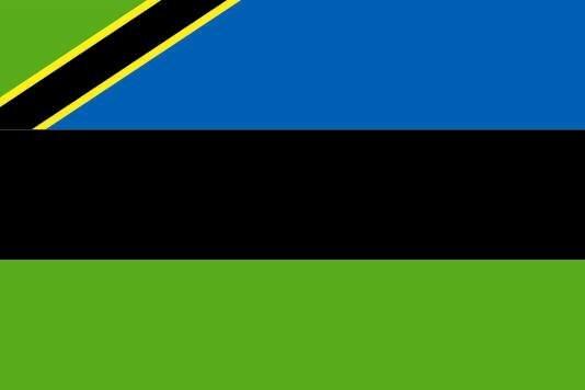 Flagge Sansibar