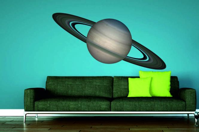 Wandtattoo Saturn Fotografie