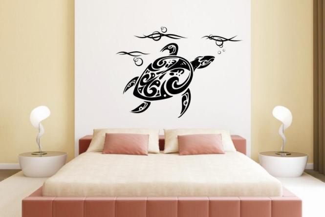 wandtattoo schildkr te motiv nr 2. Black Bedroom Furniture Sets. Home Design Ideas