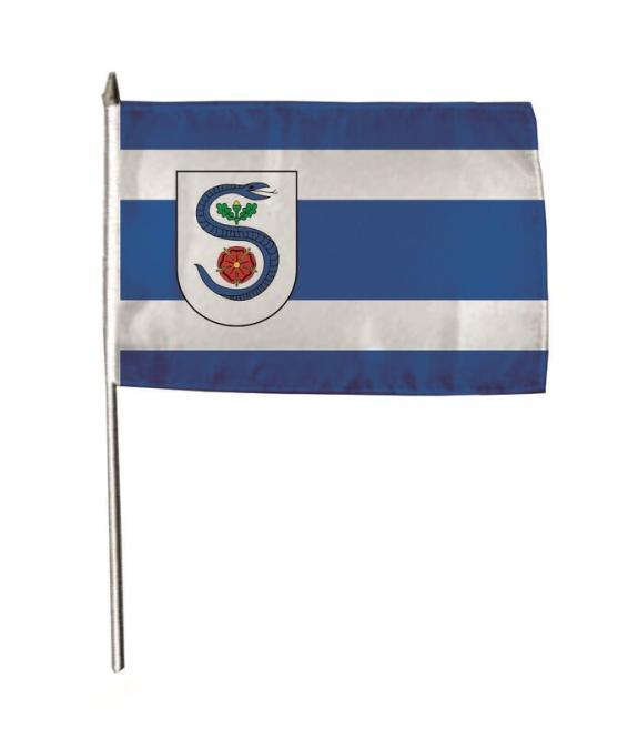 Stockflagge Schlangen 30 x 45 cm