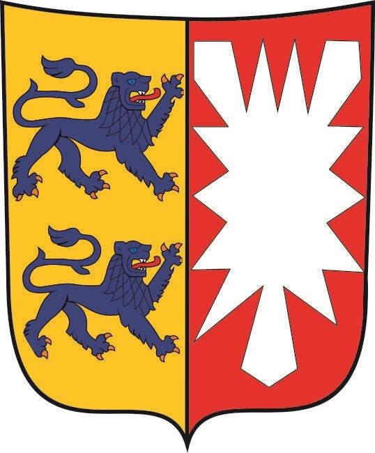 Aufkleber Schleswig - Holstein Wappen