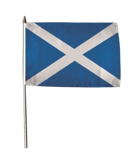 Stockflagge Schottland 30 x 45 cm
