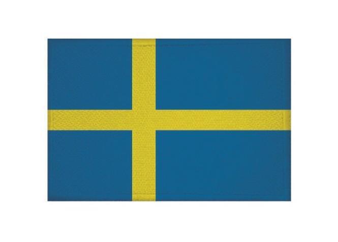 Aufnäher Patch Schweden 9 x 6 cm