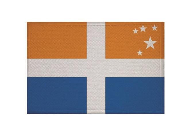 Aufnäher Scilly Inseln Patch 9 x 6 cm