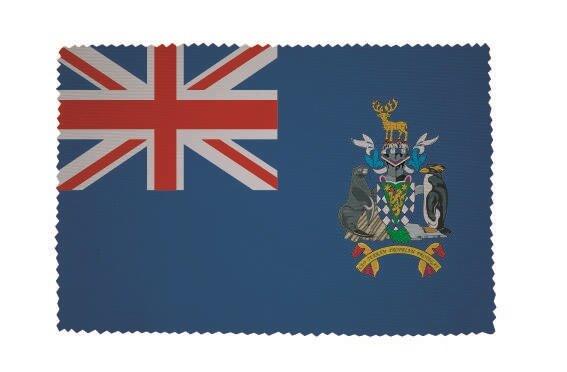 Glasreinigungstuch Süd Georgien und Sandwich Inseln