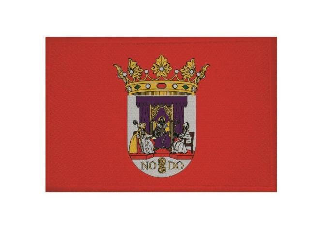 Aufnäher Patch Sevilla 9 x 6 cm
