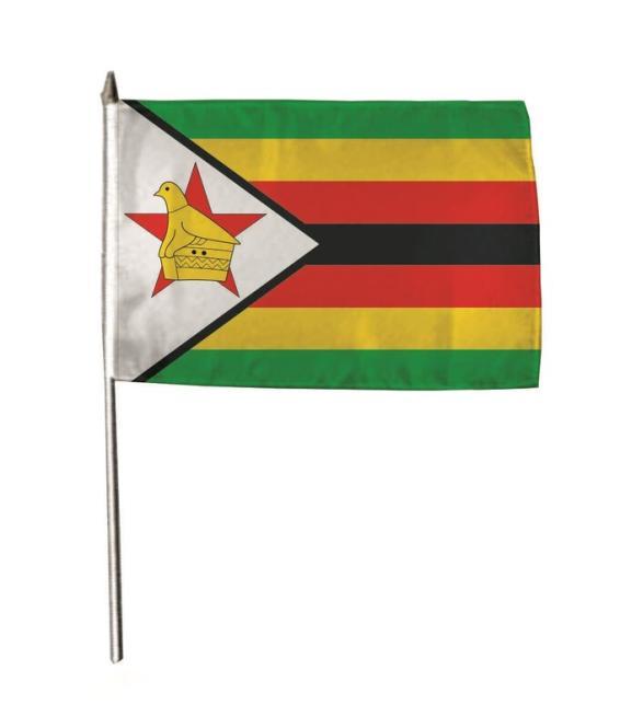 Stockflagge Simbabwe 30 x 45 cm