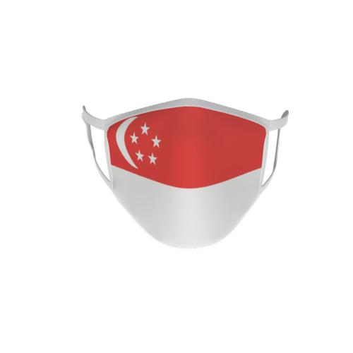 Gesichtsmaske Behelfsmaske Mundschutz Singapur