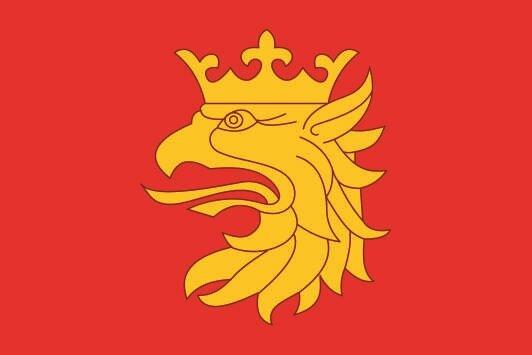 Flagge Skane län