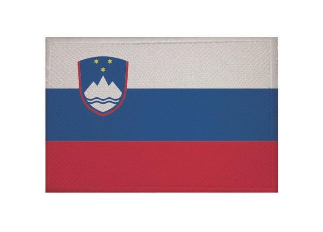Aufnäher Slowenien Patch 9 x 6 cm