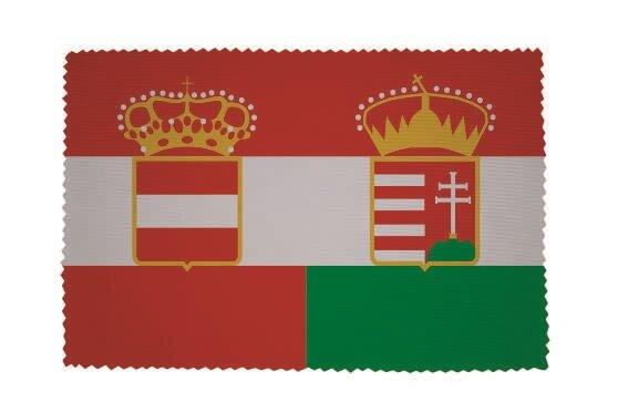 Glasreinigungstuch Österreich-Ungarn Handelsflagge