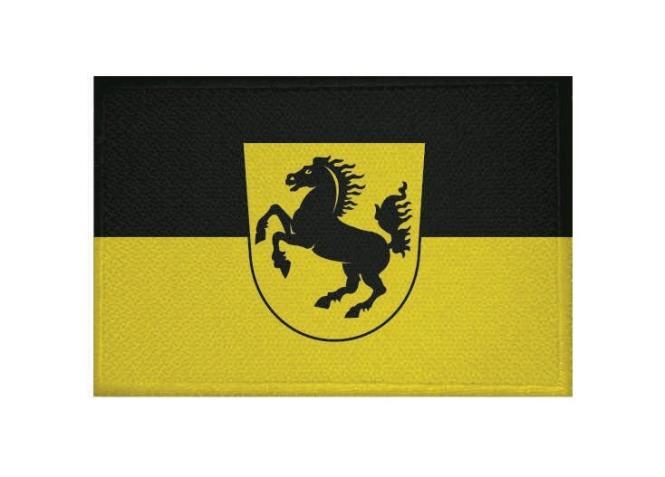 Aufnäher Patch Stuttgart 9 x 6 cm