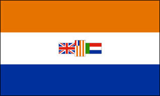 Fahne Südafrika alt 60 x 90 cm
