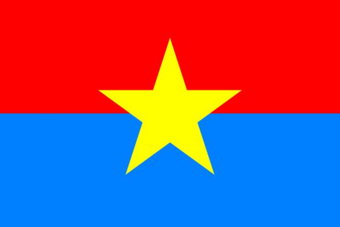 Flagge Südvietnam 1975-1976 40x60 cm