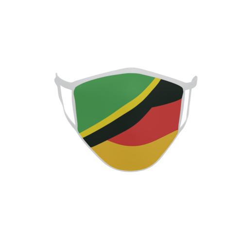 Gesichtsmaske Behelfsmaske Mundschutz Tansania-Deutschland