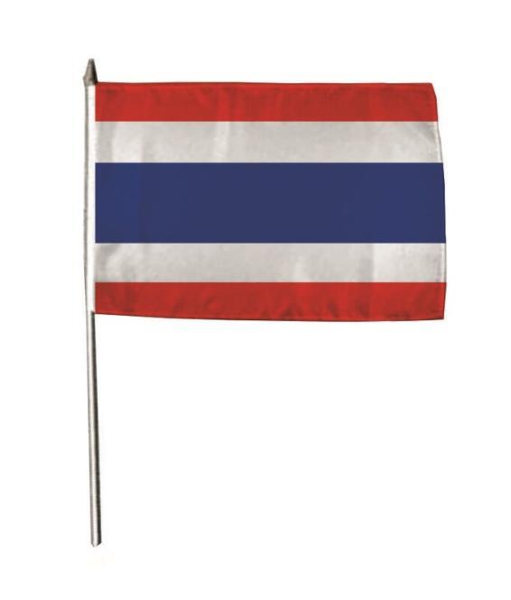 Stockflagge Thailand 30 x 45 cm