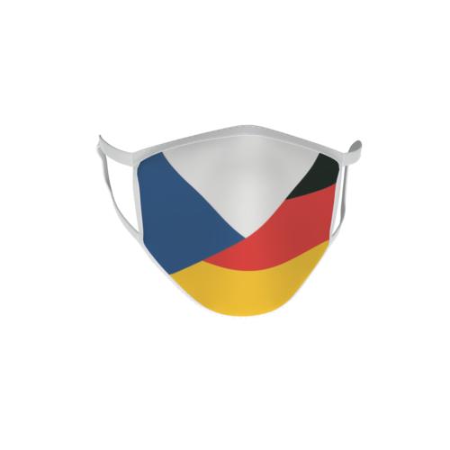 Gesichtsmaske Behelfsmaske Mundschutz Tschechien-Deutschland