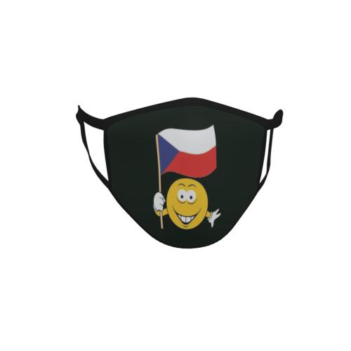 Gesichtsmaske Behelfsmaske Mundschutz schwarz Türkei Smily